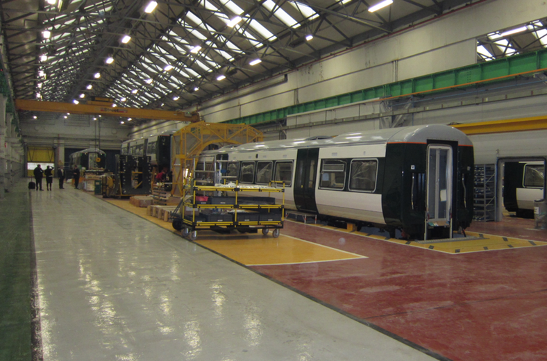 Rolling Stock Manufacture | The Railway Technical Website